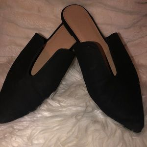 Black Mules loafers